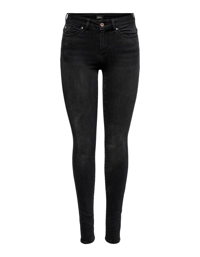 Broek jeans Anne Only Zwart