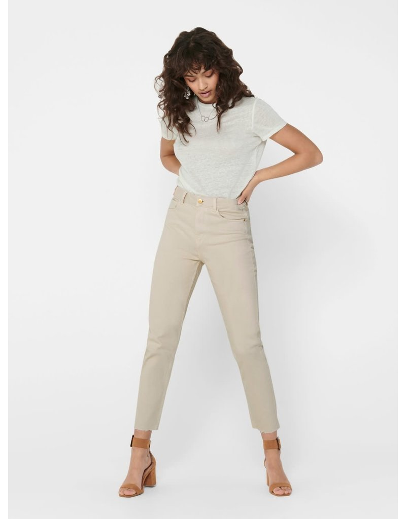 Only Broek EMILY jeans Only Ecru (NOOS)