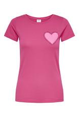 T-Shirt Chicago Jacqueline de Yong Roze Hart