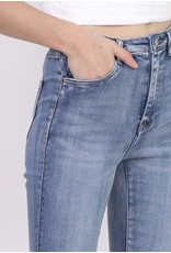 Toxik3 Broek Toxik3 Hoge Tai blauwe jeans L185-D01