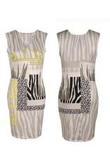 Kleedje Missy Zebra/Luipaard T-6513-40223