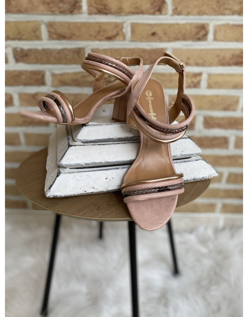 Schoen klein hakje roze
