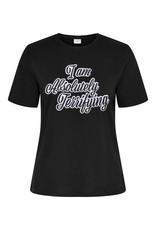 T-Shirt Hyde Jacqueline de Yong Terrifying zwart