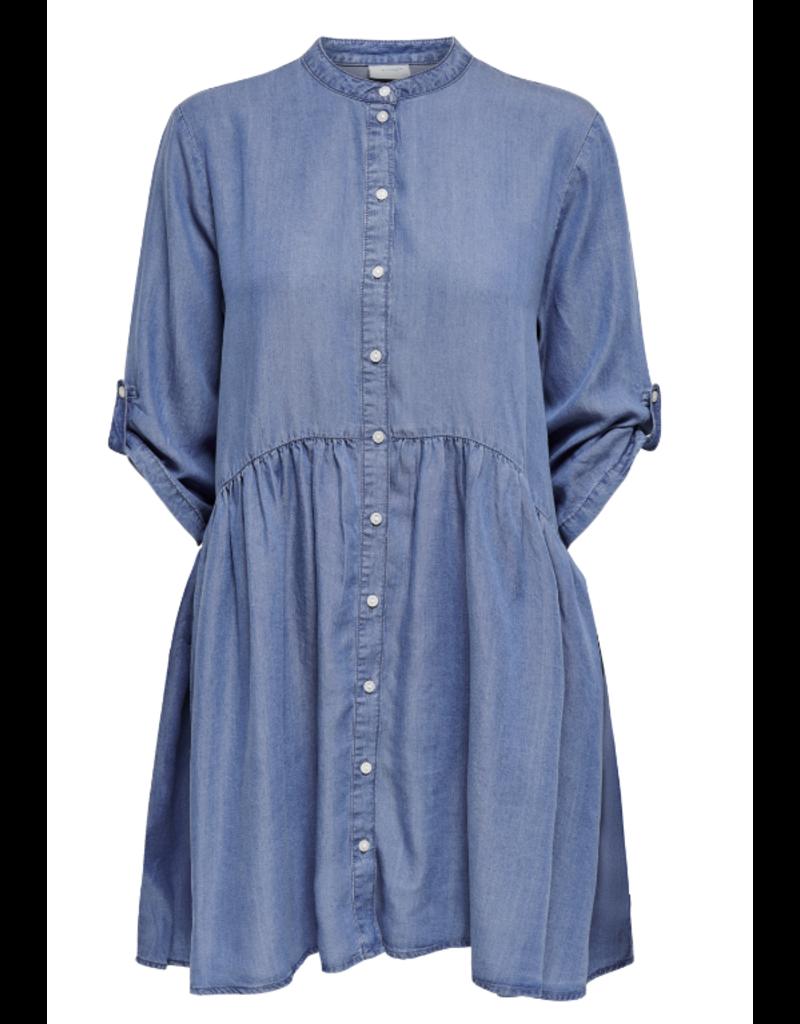 Kleed Jeans Olivia Jacqueline de Yong Medium Blue