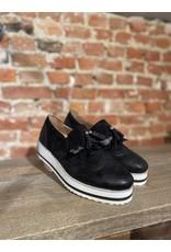 Schoen gekleed floche zwart SC047