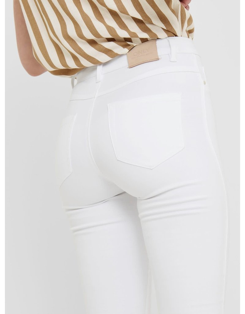Only Broek Royal HW Jeans Only WIT (NOOS)