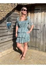 Kleed Linda Jacqueline de Yong Blue Surf