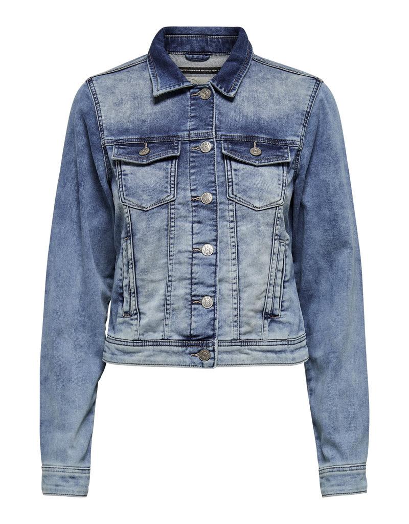 Vest Tia Only jeans licht