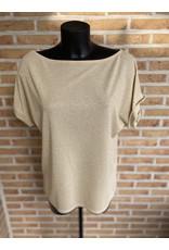 Terra di Siena T shirt Fay glitter Los model Terra di Siena 1 maat