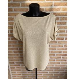 T shirt Fay glitter Los model Terra di Siena 1 maat