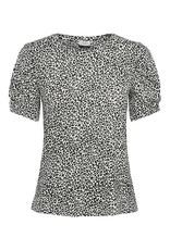 T-shirt Kirby Jacqueline de Yong Zwart/wit