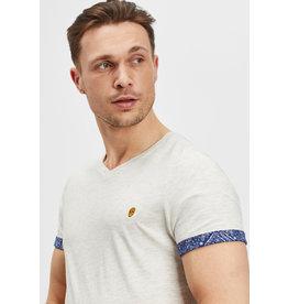 T-Shirt Furtos Black and Gold Ecru Melange