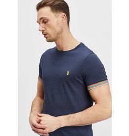 T-Shirt Furtos Black and Gold Navy