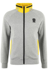 Sweater Dripdropos Black and Gold Grey Melange