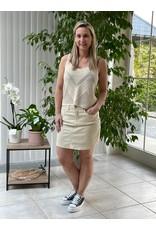Rok Jeans Lara Jacqueline de Young Ecru