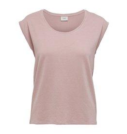 T-Shirt Runa Ronde hals Jacqueline de Yong Rose