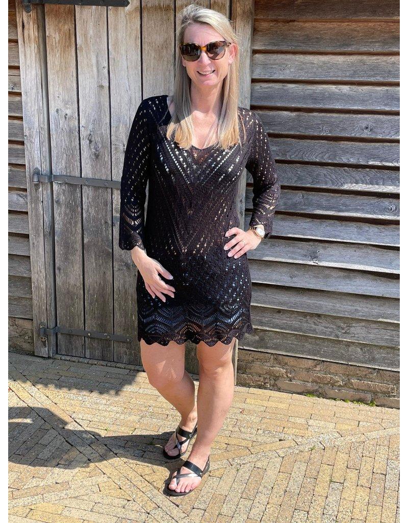 Kleed Sun Jacqueline de Young Zwart