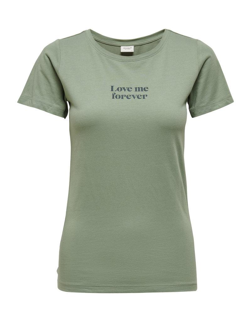 T-Shirt Chicago Jacqueline de Yong  Love me Forever Mint
