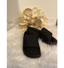 Schoen Badslipper zwart