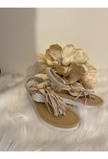 Schoen sandaal floche beige