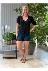 T-Shirt  Carmen Jacqueline de Young Zwart