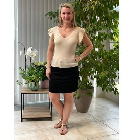 T-Shirt Heda Jacqueline de Young Tapioca