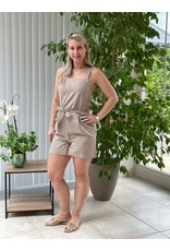 Short Canyon Playsuit Only Toasted Coconut