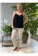Topje Iris Jacqueline de Young Zwart