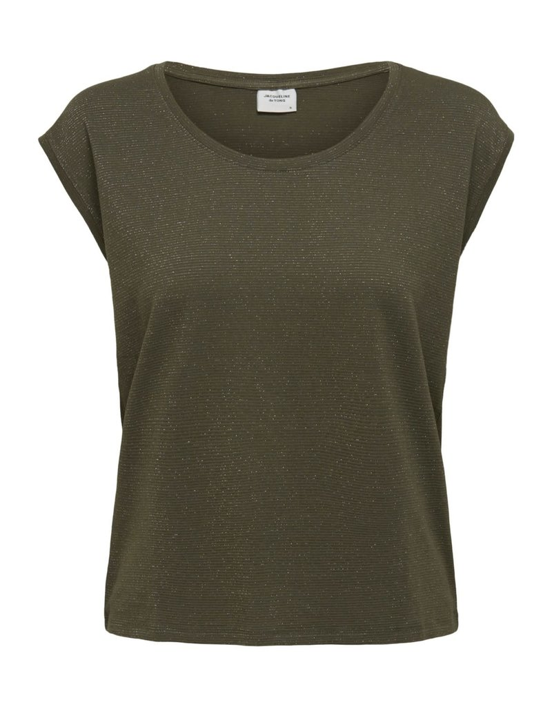 T-Shirt Runa Ronde hals Jacqueline de Yong Kalamata