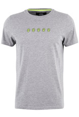 T shirt Black and Gold Heren Tchinquosneon