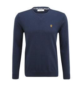 Pull Morelia Black and Gold Navy S