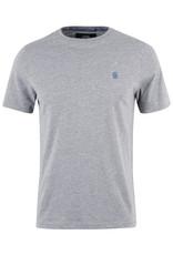 T-Shirt Furtos Black and Gold Grey Melange