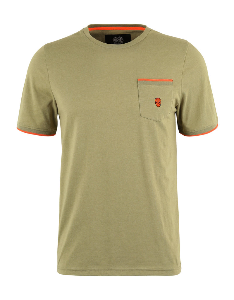 T-Shirt Black and Gold Tineonos
