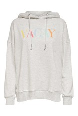 Pull Blume Only Vacay grijs