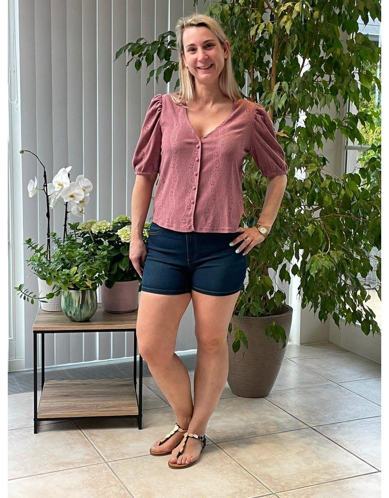 T-Shirt  Carmen Jacqueline de Young Mauve