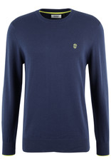 Pull Multipos Black and Gold Navy
