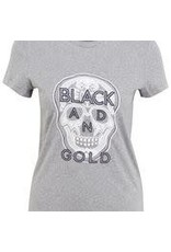Black and Gold T-Shirt CORION Black and Gold Grijs