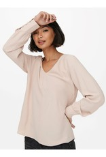 Only Blouse METTE Only Gray Morn