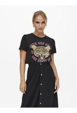 Only T-Shirt LUCY Only  Zwart Rock