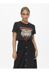 Only T-Shirt LUCY Only Zwart Timeless