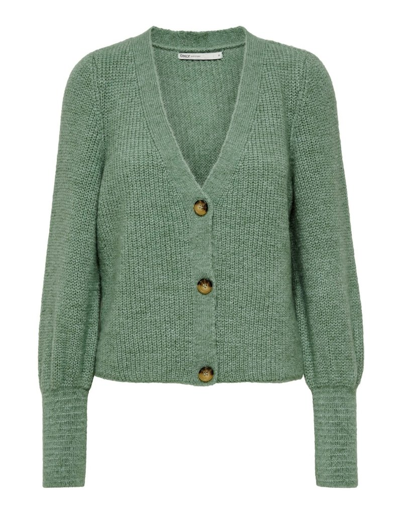 Only Gilet CLARE Only Granite Green