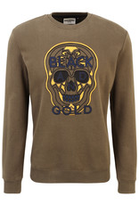 Black and Gold Sweater CRANEO Black and Gold Kaki