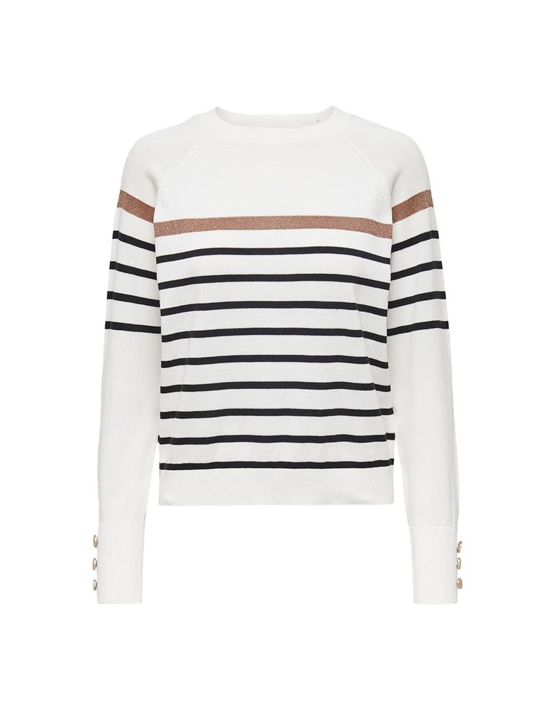 Only Pull NEW AMELIE Stripe Only Wit