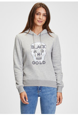 Black and Gold Pull Hoodie COIHUE Black and Gold Grijs