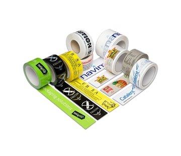 Specipack Bedrukte PVC Tape met Een Kleur bedrukt 50 mm x 66 meter