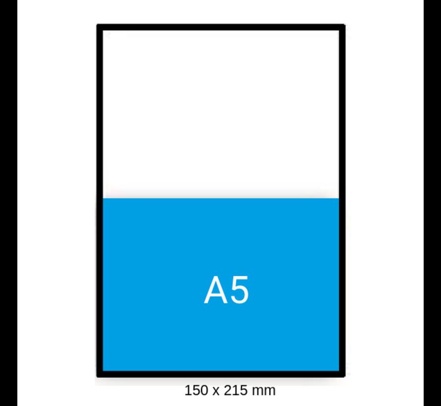 Luchtkussen enveloppen C - Bubbelenveloppen 150 x 215 mm A5  - Doos met 100 enveloppen