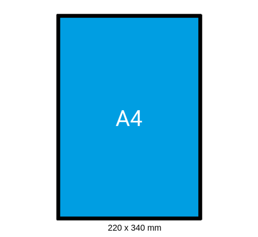 Luchtkussen envelop F - Bubbelenvelop 220 x 340 mm A4