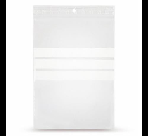 Specipack Gripzakje 40 x 60 mm met schrijfvlak en druksluiting doos 1000 stuks