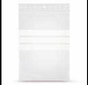 Specipack Gripzakje 100 x 150 mm met schrijfvlak en druksluiting doos 1000 stuks