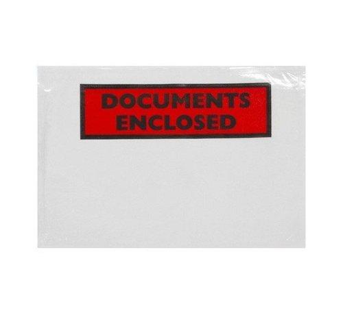 Paklijstenvelop bedrukt DL 230 x 110 mm doos 1000 stuks